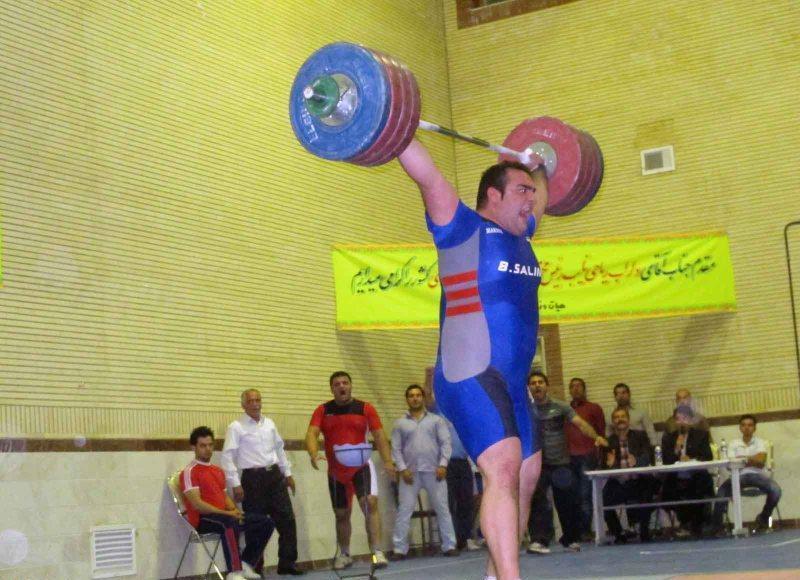 Behdad Salimi 217 kg snatch